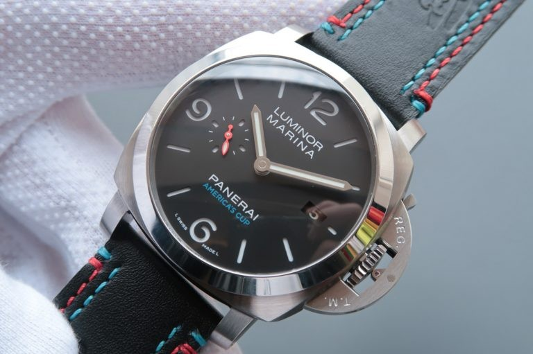 Panerai PAM727 S America's Cup Thick Leather Strap WT00735