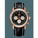 Breitling Navitimer 1 B03 Chronograph Rattrapante 45 Red gold Limited Black WT01334