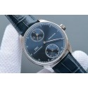Fake IWC YLF Portuguese Regulateur Blue Dial Leather Strap IWC WT01154