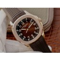 Luxury Patek-Philippe Aquanaut 5167 PF Brown Textured Dial Brown Rubber Strap WT00543