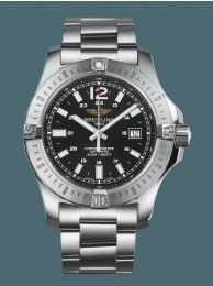 Copy AAAAA Breitling Colt Automatic Steel Volcano Black Breitling WT01703