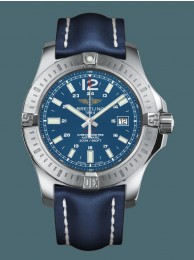 Copy Best Breitling Colt Automatic Steel Mariner Blue Breitling WT01856