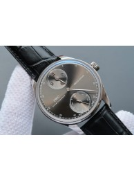 IWC YLF Portuguese Regulateur Gray Dial Leather Strap IWC WT01781