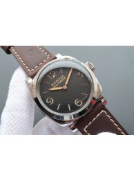 Panerai PAM587 Thick Brown Leather Strap WT01071