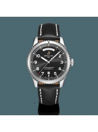 Replica Breitling Navitimer 8 Automatic Day & Date 41 Steel Black WT01239
