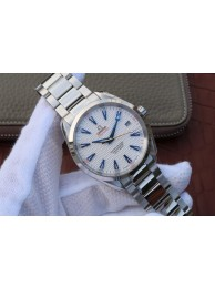 Replica Omega Seamaster 150M Ryder Cup White Textured Dial Bracelet WT00727