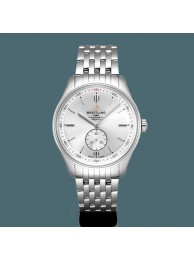 Top Breitling Premier Automatic 40 Steel Silver Breitling WT01261