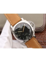 Top Panerai PAM127 Brown Leather Strap with Y-Incabloc WT00583